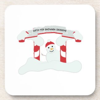 Snowmen Crossing Coaster