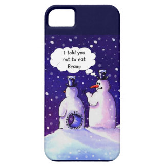 Snowmen Don't Eat Beans iPhone 5 Cover