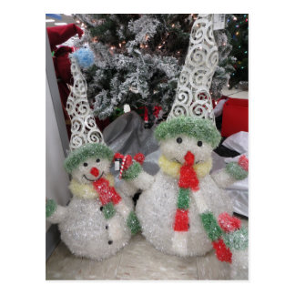 Snowmen Duo Postcard