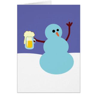 Snowmen Gone Wild! Card