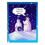 Snowmen Humour
