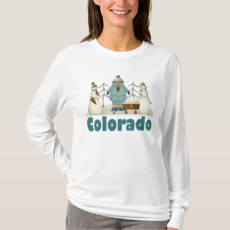 Snowmen In Colorado T-shirt