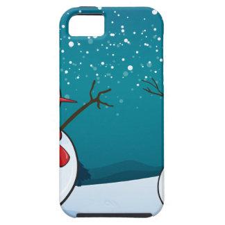 snowmen iPhone 5 case