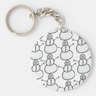 Snowmen Keychain