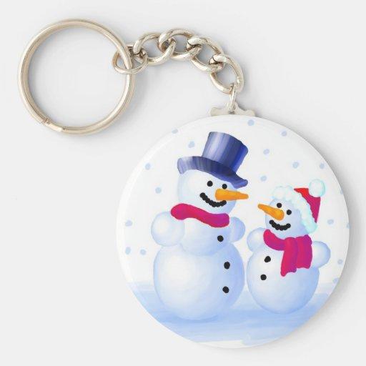 Snowmen Key Chain