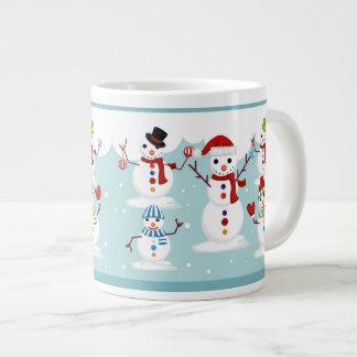Snowmen Large Coffee Mug
