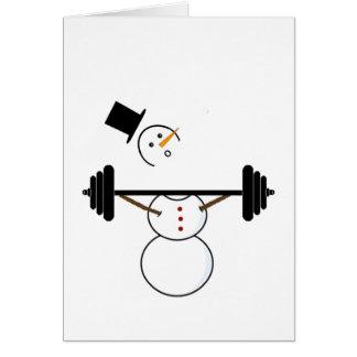 Snowmen Snatch Card