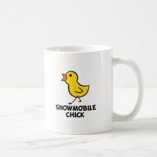 Snowmobile Chick Mug