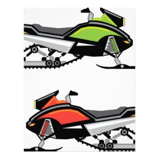 Snowmobile Custom Letterhead