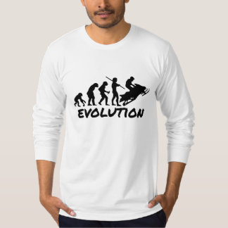 Snowmobile Evolution T-Shirt