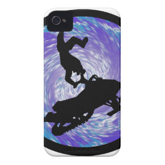 SNOWMOBILE THE TRICKS iPhone 4 Case-Mate CASES