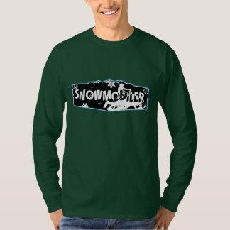 Snowmobiler Hanes Nano Long Sleeve T-Shirt