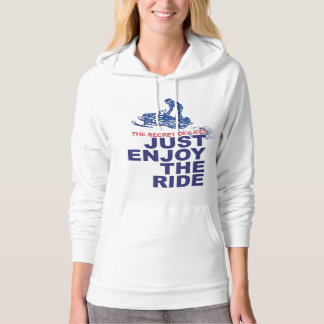Snowmobiling Enjoy the Ride Hoodie