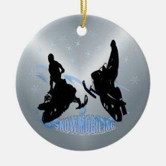 Snowmobiling - Snowmobilers Ornament