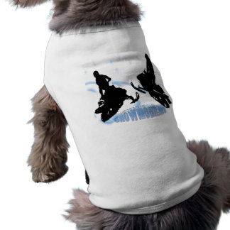 Snowmobiling - Snowmobilers Pet Clothing