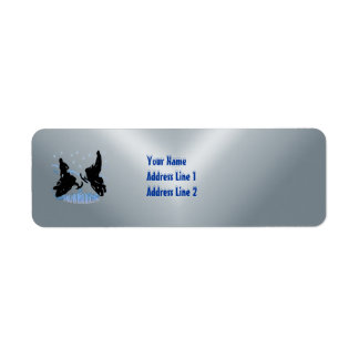 Snowmobiling - Snowmobilers Return Address  Label