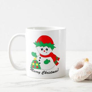 Snowoman - Marry Christmas Mug