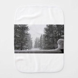snows burp cloth