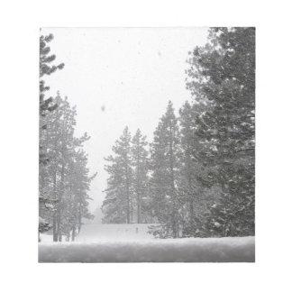 snows notepad