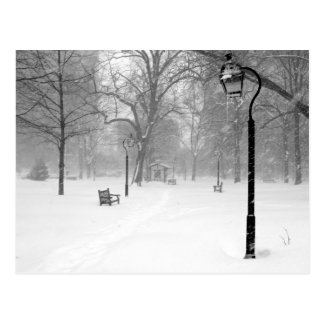 Snowscape II, Philadelphia Postcard