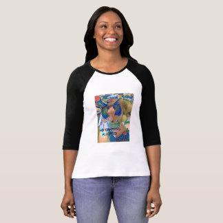 Snowshoe Anti-Crafting Kitty T-Shirt