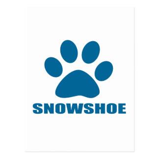 SNOWSHOE CAT DESIGNS POSTCARD