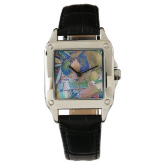 snowshoe crafting kitty wristwatches