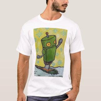 Snowshoe Robot T-Shirt