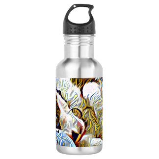 snowshoe still life kitty 532 ml water bottle