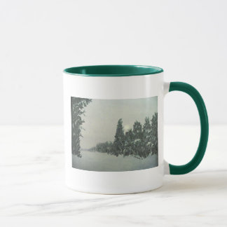 Snowstorm on the Gunflint Trail mug