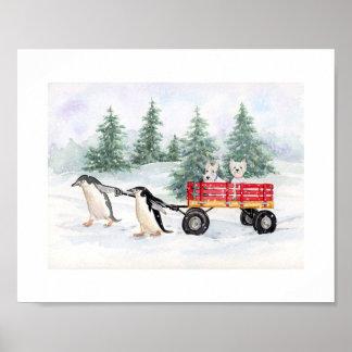 Snowy Adventures Poster