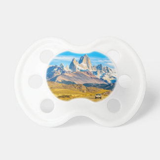 Snowy Andes Mountains, El Chalten, Argentina Baby Pacifiers