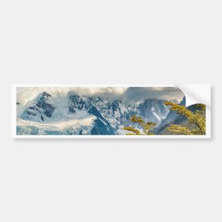 Snowy Andes Mountains, El Chalten Argentina Bumper Sticker