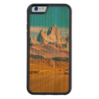 Snowy Andes Mountains, El Chalten, Argentina Carved Cherry iPhone 6 Bumper Case