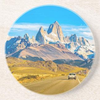 Snowy Andes Mountains, El Chalten, Argentina Coaster