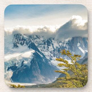 Snowy Andes Mountains, El Chalten Argentina Coaster