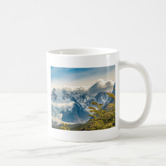 Snowy Andes Mountains, El Chalten Argentina Coffee Mug