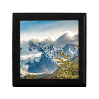 Snowy Andes Mountains, El Chalten Argentina Gift Box