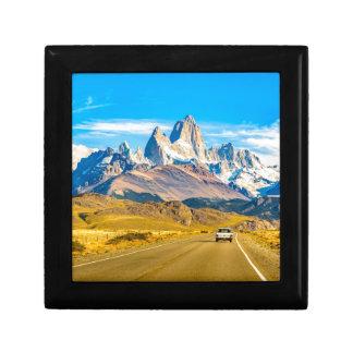 Snowy Andes Mountains, El Chalten, Argentina Gift Box