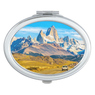 Snowy Andes Mountains, El Chalten, Argentina Mirrors For Makeup