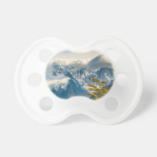 Snowy Andes Mountains, El Chalten Argentina Pacifier
