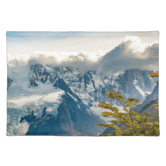 Snowy Andes Mountains, El Chalten Argentina Placemat