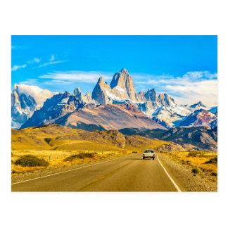 Snowy Andes Mountains, El Chalten, Argentina Postcard