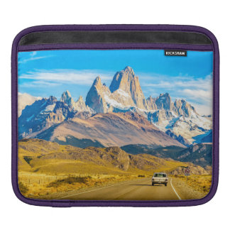 Snowy Andes Mountains, El Chalten, Argentina Sleeve For iPads