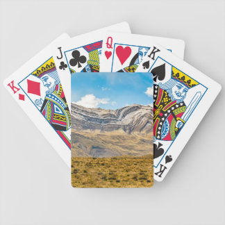 Snowy Andes Mountains Patagonia Argentina Bicycle Playing Cards