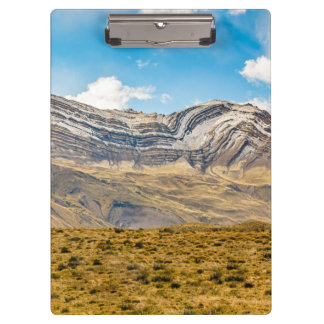 Snowy Andes Mountains Patagonia Argentina Clipboard