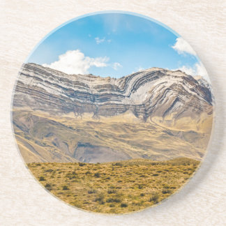 Snowy Andes Mountains Patagonia Argentina Coaster