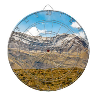 Snowy Andes Mountains Patagonia Argentina Dartboard