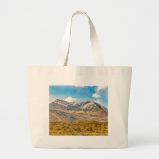 Snowy Andes Mountains Patagonia Argentina Large Tote Bag