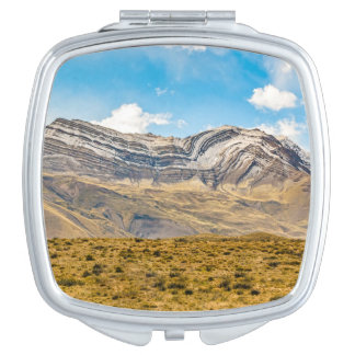Snowy Andes Mountains Patagonia Argentina Makeup Mirror